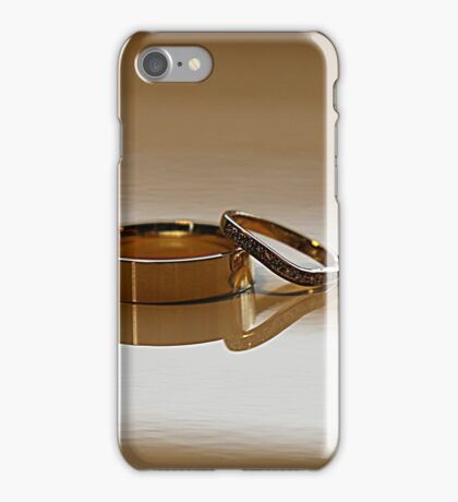 Wedding Bands iPhone Case/Skin
