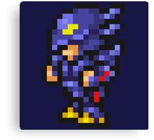 Cecil Harvey (Dark Knight) Sprite - FFRK - Final Fantasy IV (FF4) Canvas Print