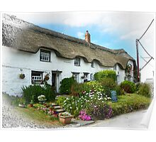 A Picturesque Little Tearoom  Poster