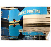 Miss Fortune, South Bristol, Maine. Poster