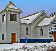 Superior (Montana) United Methodist Church by Bryan D. Spellman