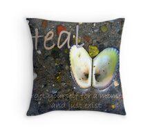 Heal Throw Pillow