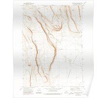 USGS Topo Map Oregon Corporation Rim 279442 1971 24000 Poster