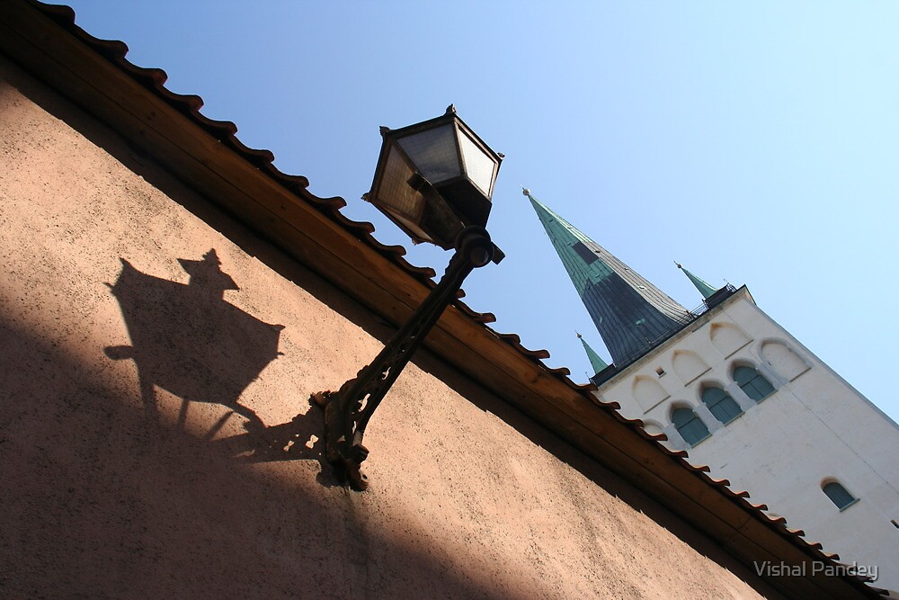 Looking up to the St Olaf's Church by Vishal Pandey