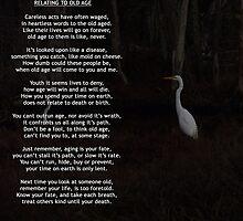 Relating To Old Age ~ Written By Toni Kane by Toni Kane