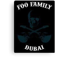Foo Fighters Dubai Canvas Print