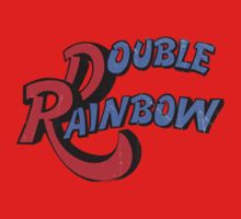 Double Rainbow-Dirty Logo Kids Clothes