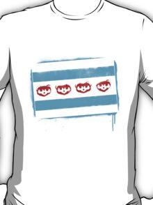 Chicago Flag: Baseball-Full Color T-Shirt