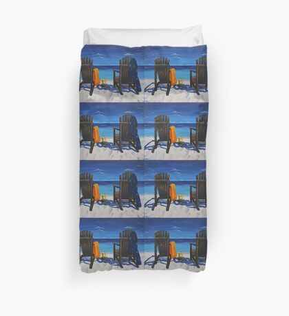holiday cocktail Duvet Cover