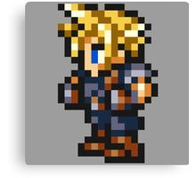 Cloud Strife Sprite - FFRK - Final Fantasy VII (FF7) Canvas Print