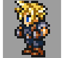 Cloud Strife Sprite - FFRK - Final Fantasy VII (FF7) Photographic Print