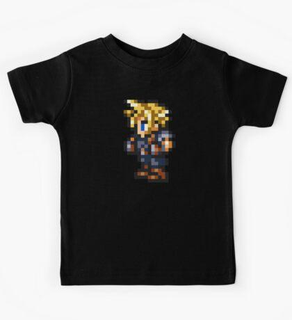 Cloud Strife Sprite - FFRK - Final Fantasy VII (FF7) Kids Tee