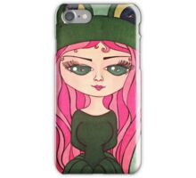 Frog Girl iPhone Case/Skin