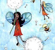 Flights of Fancy - 'Riding the Dandelions' by Cherie Roe Dirksen