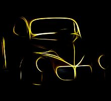 Willies Glowing Outline by Doug Greenwald