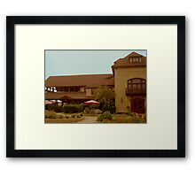Welcome to Chateau Morrisette!  Framed Print