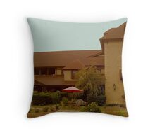 Welcome to Chateau Morrisette!  Throw Pillow