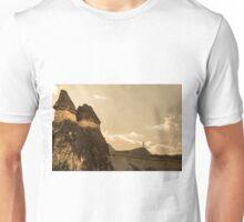 Capped earth pillars Unisex T-Shirt