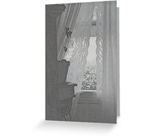 that window grunged ... again Greeting Card