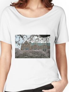 Washington Cherry Blossoms Women's Relaxed Fit T-Shirt