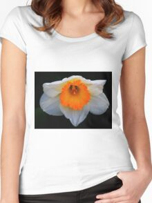 Daffodil in Bloom Women's Fitted Scoop T-Shirt
