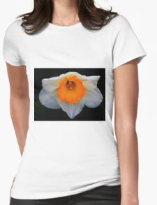 Daffodil in Bloom Womens Fitted T-Shirt