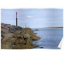 Norfolk Breakwater Poster