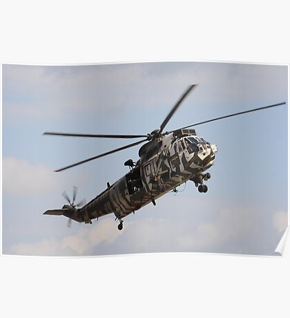Jungly Sea King Poster