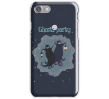 Ghosts party! iPhone Case/Skin