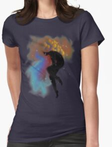 Space Mother Womens Fitted T-Shirt