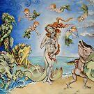 Birth Of Venus Remake by Ellen Marcus