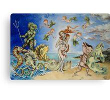Birth Of Venus Remake Canvas Print