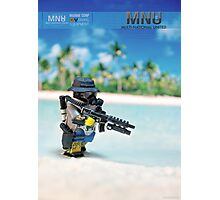 MNU diving suit Photographic Print