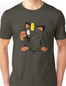 Meowth Splatter Unisex T-Shirt