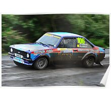 MK II Ford Escort RS1800 Poster