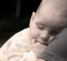 Sleeping Baby Boy by Eileen McVey