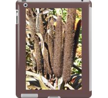 Brown reeds iPad Case/Skin