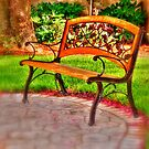 Little garden bench by henuly1