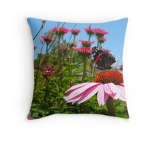Matriarch Monarch Throw Pillow