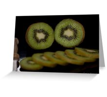 Kiwifruit Greeting Card