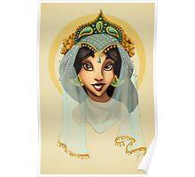 Tribal Princess Jasmine Poster