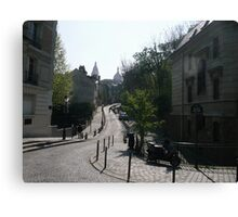 Street at Montmartre Canvas Print