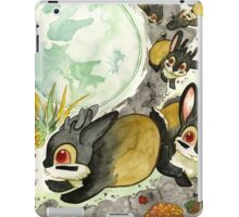 Moonlight With Jackalopes iPad Case/Skin