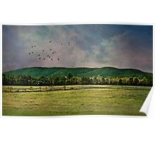 Majestic Mountains of Vermont Poster