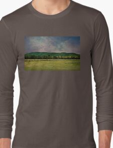 Majestic Mountains of Vermont Long Sleeve T-Shirt