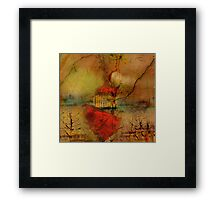 Sailing toward the Lonely Hearts Club Framed Print