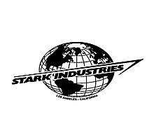 Stark Industries Global-Black Photographic Print