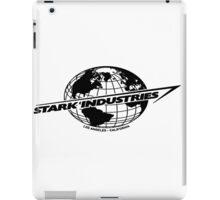 Stark Industries Global-Black iPad Case/Skin