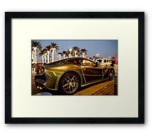 Ferrari Nights Framed Print