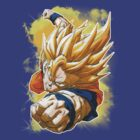 Super Saiyan Goku by MissCake